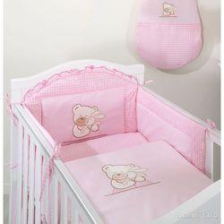 MAMO-TATO pościel 3-el Tulisie w różu do łóżeczka 70x140cm z kategorii komplety pościeli dla dzieci