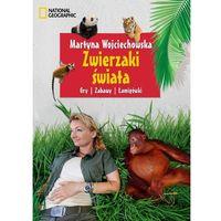 Martyna Wojciechowska. Zwierzaki świata. Gry, zabawy, łamigłówki