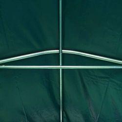 vidaXL Namiot garażowy z PVC, 1,6 x 2,4 m, zielony