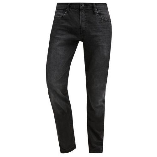 Lee ARVIN REGULAR TAPERED Jeansy Straight leg distorted black - produkt z kategorii- spodnie męskie