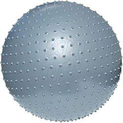 Piłka gimnastyczna do masażu  75 cm srebrna 31105 marki Meteor