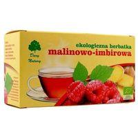 MALINOWO-IMBIROWA EKO - herbata ekspresowa - Dary Natury, 5400