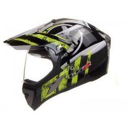 KASK LS2 MX433 STRIPE VISOR HI-VIS-YELLOW - produkt z kategorii- kaski motocyklowe