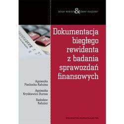 Dokumentacja biegłego rewidenta z badania sprawozdań finansowych (ISBN 9788301165123)