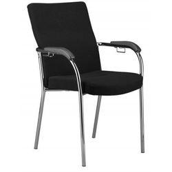 Krzesło LOCO II click - do poczekalni i sal konferencyjnych z możliwością łączenia, konferencyjne, na nogach, stacjonarne