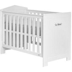 Marsylia łóżeczko dziecięce 120x60 - biały od producenta Pinio meble