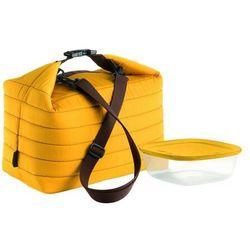 Duża torba termiczna z pojemnikiem on the go pomarańczowa marki Guzzini