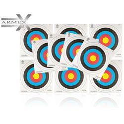 Tarcza łucznicza Armex 60 cm FITA, wzmacniana - 10 szt. - sprawdź w wybranym sklepie