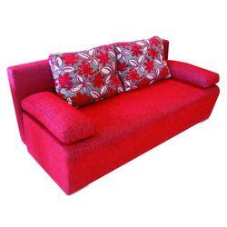 Rozkładana sofa LARA ENRICO 5646/466+5618/466 – Czerwona (sofa)