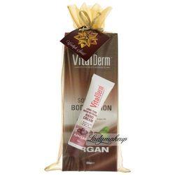 VitalDerm - Arganowy balsam do ciała + krem do rąk - ZESTAW ŚWIĄTECZNY z kategorii Kremy do rąk