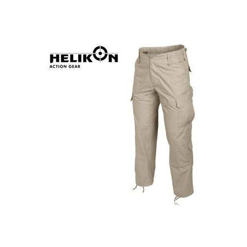Spodnie Helikon CPU CottonRipstop beżowe r. XL (long) (spodnie męskie)