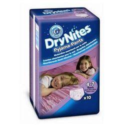 Pieluchomajtki Huggies Dry Nites Medium - Girls 17-30 kg, 10 szt.