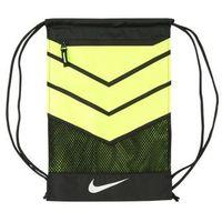 Nike Performance VAPOR Torba sportowa black/volt/metallic silver
