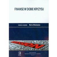 Finanse w dobie kryzysu t.18