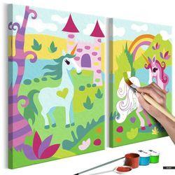 Bimago Selsey zestaw do malowania bajkowe jednorożce