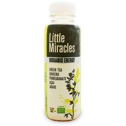 NAPÓJ ENERGETYZUJĄCY O SMAKU ZIELONEJ HERBATY BIO 330 ml - LITTLE MIRACLES, towar z kategorii: Zdrowa żywno