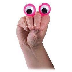 Oczy na palce pacynka różowa - oferta [65efec0e7142e755]
