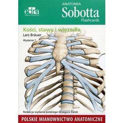Anatomia Sobotta Flashcards Kości stawy i więzadła (Edra Urban Partner)