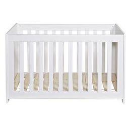 Woood Łóżeczko dla dzieci NEW LIFE białe 363406-GOW, 363406-GOW