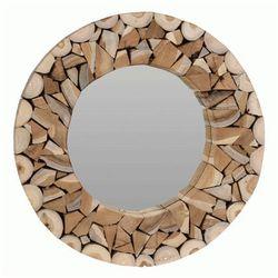 Producent: elior Okrągłe lustro silmi - naturalne