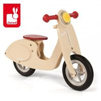 Rowerek biegowy waniliowy scooter,  wyprodukowany przez Janod