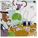 Kolorowanka 21x21 dzikiezwierzęta  marki Interdruk