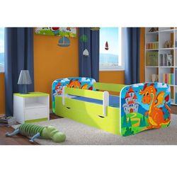 Kocot-meble Łóżko dziecięce babydreams smok z zamkiem kolory negocjuj cenę