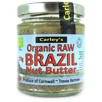 Carley's organic foods Organiczne masło z orzechów brazylijskich 170g raw