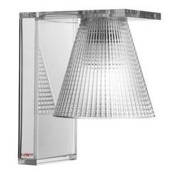 Kartell Kinkiet light-air rzeźbiony transparentny