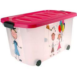 Skrzynia na kółkach KIDS - pojemnik na zabawki (5902026799317)