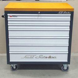 Wózek narzędziowy - 7 szuflad - do warsztatu, do fabryki, linia produkcyjna, F40E-27671