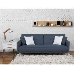 Sofa z funkcja spania ciemnoniebieska - kanapa rozkladana - wersalka - LUCAN, marki Beliani do zakupu w Beliani