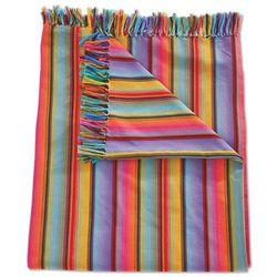 Bonprix Narzuta w paski kolorowy