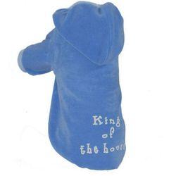 GRANDE FINALE Bluza B51 King of the House niebieska NOWOŚĆ z kategorii Ubranka dla psów