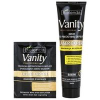 vanity laser expert krem depilacyjny do okolic intymnych (innovation in hair removal) 100 ml marki Bielenda