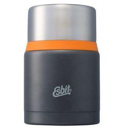 Esbit Termos obiadowy food jug plus dark grey orange 750 ml (4260149871114)