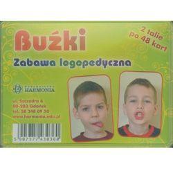 Buźki Zabawa logopedyczna 2 talie po 48 kart, produkt marki praca zbiorowa