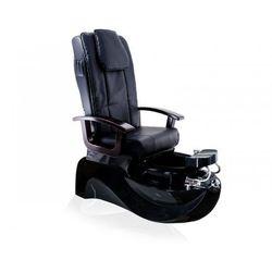 Vanity_a Fotel pedicure spa ts-1204 czarny z funkcją masażu