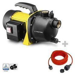 Pompa ogrodowa TGP 1000 E + Przedłużacz jakościowy 15 m / 230 V / 1,5 mm²