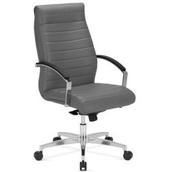 Nowy styl Fotel gabinetowy lynx lb steel 43
