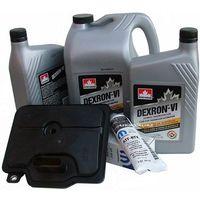 Filtr oraz olej dextron-vi automatycznej 6-cio biegowej skrzyni 62te chrysler sebring 2008-, marki Proking