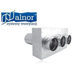 Puszka rozdzielcza przedłużana prosta 3x90mm/125mm (flx-pro-pl-90-3) wyprodukowany przez Alnor