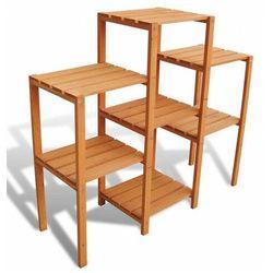 Drewniany kwietnik ogrodowy - Lonix, vidaxl_41302