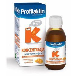 Profilaktin Koncentracja syrop (smak pomarańczowy) 115 ml - syrop Witaminyi minerały