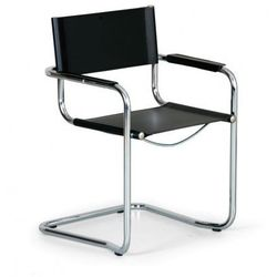 B2b partner Krzesło konferencyjne skórzane mista
