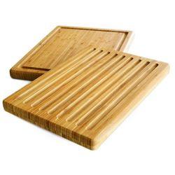 Zeller Dwustronna deska do krojenia, 39 x 30 cm, 100% bambus,