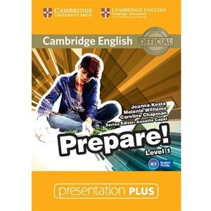 Cambridge english prepare! 1 presentation plus, marki Cambridge university press