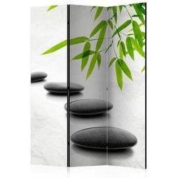 Parawan 3-częściowy - kamienie zen [parawan] marki Artgeist