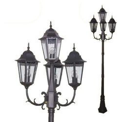 Stojąca LAMPA zewnętrzna LOZANA K-7006A2/4 Kaja metalowa OPRAWA ogrodowa IP44 outdoor czarny - oferta [e5d92e700771c73c]