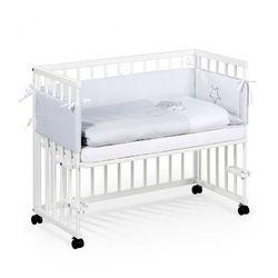 Klupś łóżeczko dostawne piccolo due 90x40 biały odbierz swój rabat